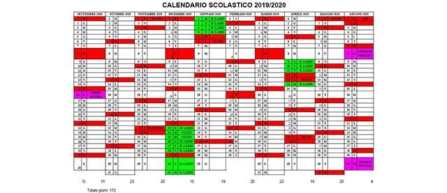 Calendario Scuola Primaria.Istituto Comprensivo Velletri Sud Ovest